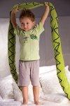 Chlapecké pyžamo Samuel 2973 šedo-zelené
