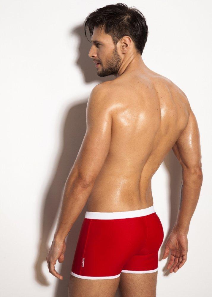 Alpha Male Verso Red Pánské plavky - Nohavičkové plavky - Pánské ... 210735bd53