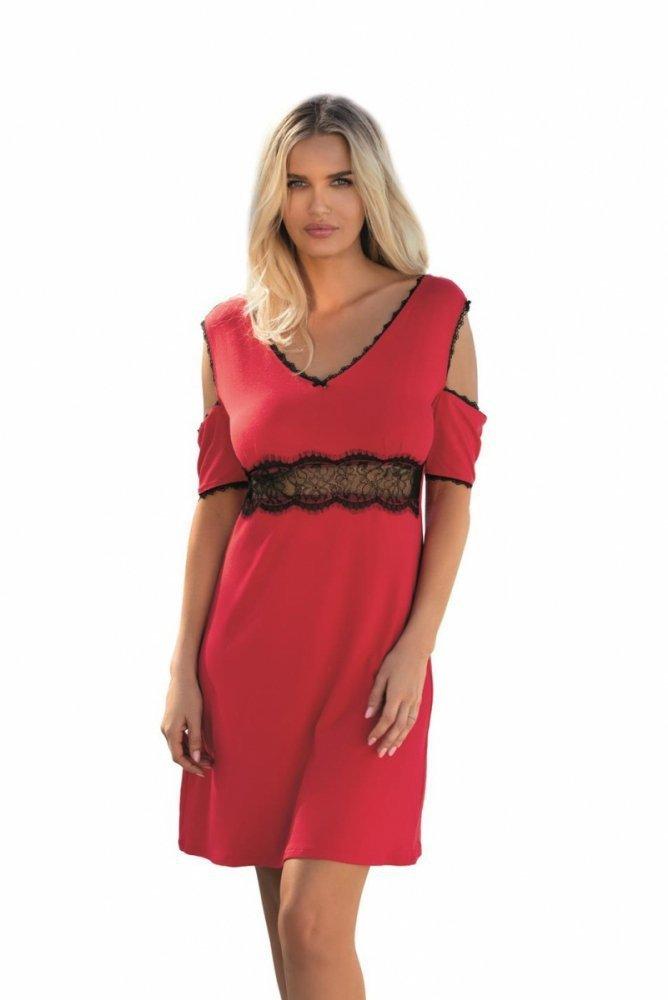 5e9d380d955 Dkaren Rikki červená Noční košile - Noční košile - Noční prádlo