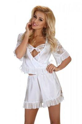 Beauty Night Raquel white Erotická souprava