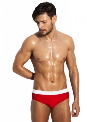 Alpha Male Ergo Red Pánské plavky