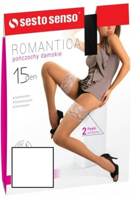 Sesto Senso Romantica 15 DEN Punčochy