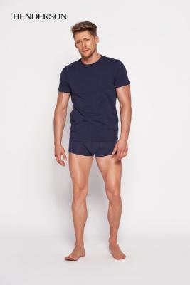 Henderson Bosco 18731 59x Tmavě modré Pánské tričko