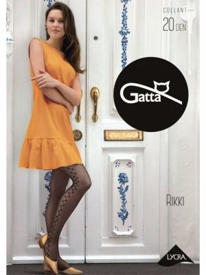 Gatta Rikki 04 Daino (béžové) Punčochové kalhoty