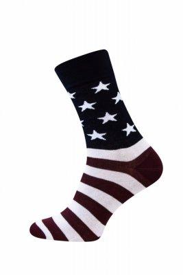 Sesto Senso Finest Cotton vlajka Ponožky
