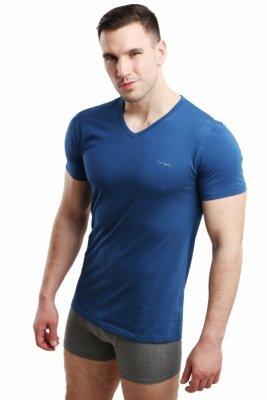 Pierre Cardin Vneck jeans Pánské triko