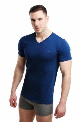 Pierre Cardin Vneck tmavě modrý Pánské triko