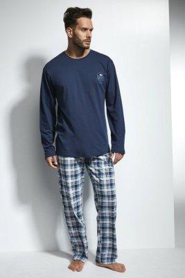 Cornette 124/109 Great Tmavě modré Pánské pyžamo