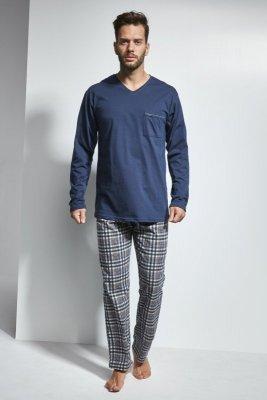 Cornette 122/118 Arthur Tmavě modré Pánské pyžamo