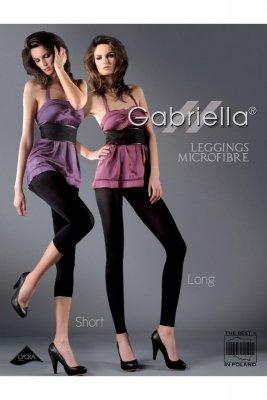 Gabriella 139 microfibre long grey Legíny