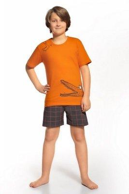 Cornette 789/35 Oranžové Chlapecké pyžamo