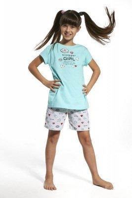 Cornette 787/56 Blogger gilrl Tyrkysové Dívčí pyžamo