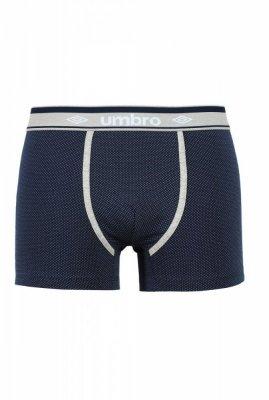 Umbro Dots tmavě modré Pánské boxerky