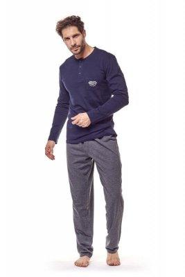 Henderson 36213 59x Tmavě modré Pánské pyžamo