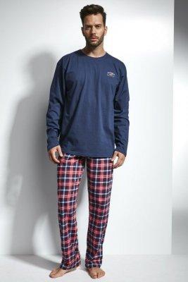 Cornette 124/115 Alaska Tmavě modré Pánské pyžamo