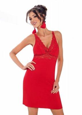 Donna Lily červená Noční košile