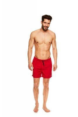 Henderson King 36841-33X Červené Pánské plavkové šortky