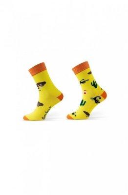 Sesto Senso Finest Cotton Duo Mexiko Ponožky