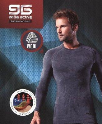 Gatta T-Shirt Wool Men 42946 S Bezešvé pánské tričko