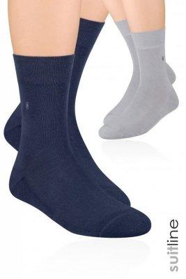 Steven art.003 Pánské ponožky, polofroté