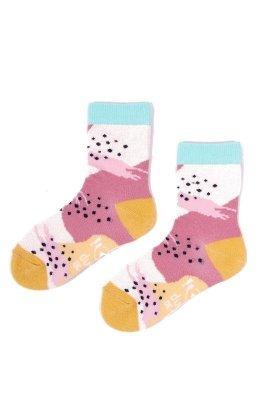 YO! Jazzy Girls SK-06 31-42 A'6 mix dětské ponožky