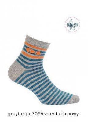 Wola Be Activ W94.1S0 Tata & Syn Pánské ponožky