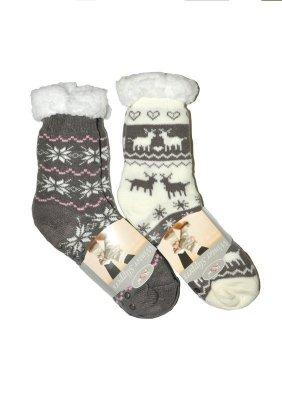 RiSocks  Winter Slippers art.2983 ABS dámské ponožky