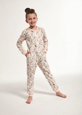 Cornette Young Girl 106/119 Polar Bear 2 134-164 Dívčí overal-pyžamo