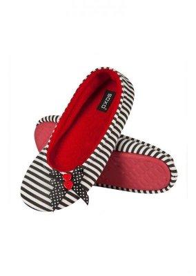 Soxo 9846 Dámské papuče, Knoflíček