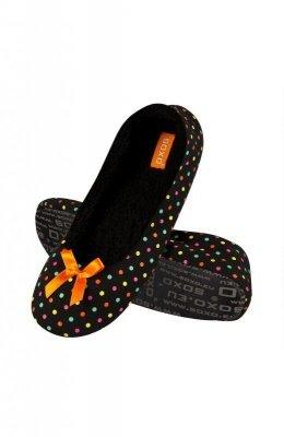 Soxo 79984 Dámské papuče puntíky