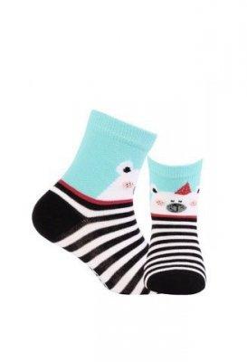 Wola s vzorem W24.01P 2-6 lat ponožky
