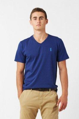 Orlovski V-Neck Navy Pánské tričko