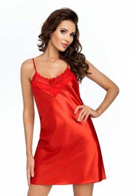 Donna Eva červená Noční košile
