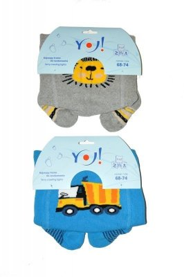 YO! Boy Frotte art.RA 35 62-74 Punčochové kalhoty