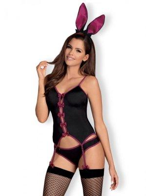 Obsessive Bunny suit černý  Erotický kostým