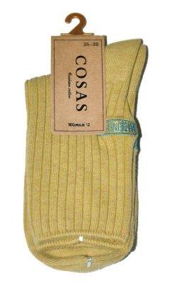Cosas LM-1/24,29 Dámské ponožky Pruhovaná struktura