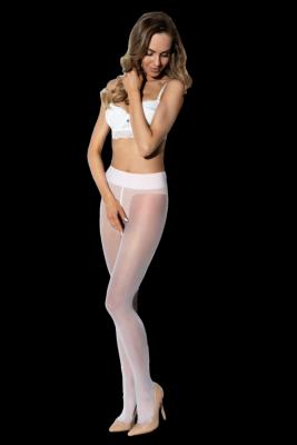 Amour Hip Gloss White 20 DEN Punčochové kalhoty