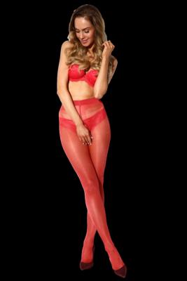 Amour Hip Gloss Red 20 DEN Punčochové kalhoty