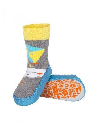 Soxo 98497 Dětské ponožky, podešev z kůže