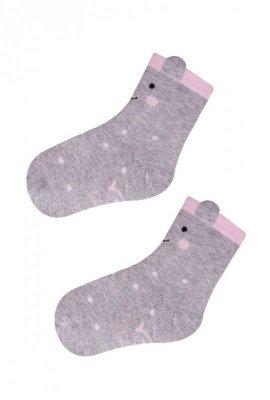 YO! SKC 3D-Ears Girl 14-16 dívčí ponožky