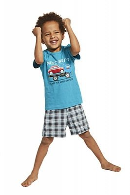 Cornette 789/80 Kids Car Transporter Chlapecké pyžamo