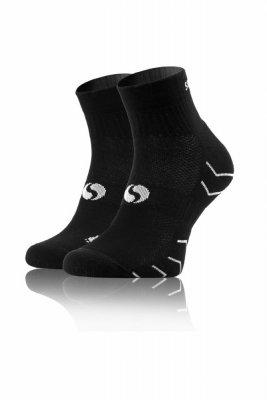 Sesto Senso Frotte Sport Socks černé Ponožky