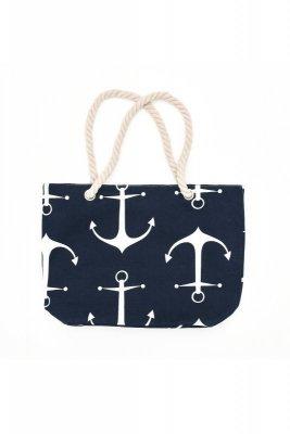 Henderson Ladies  Fate 45x32cm 38133-59X tmavě modrá Plážová taška