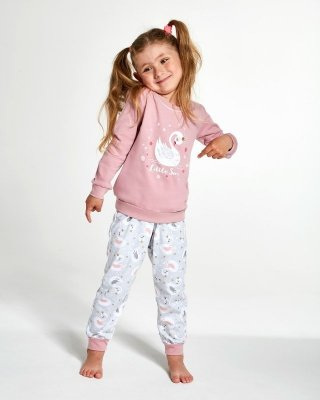 Cornette Kids Girl 387/123 Little Swan 86-128 Dívčí pyžamo