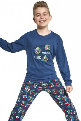 Cornette Kids Boy 593/102 Cube Master 86-128 Chlapecké pyžamo
