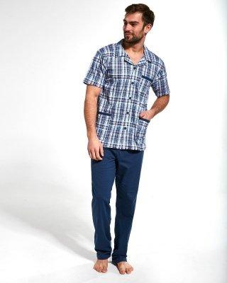 Cornette 318/39 rozepínané Pánské pyžamo