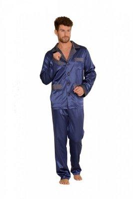 De Lafense 939 Satén Pánské pyžamo