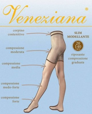 Veneziana Slim 20 Punčochové kalhoty