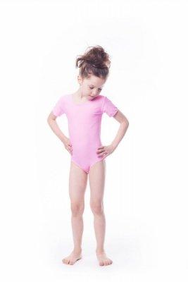 Shepa Gymnastický dres Body lycra (B9) krátký rukáv