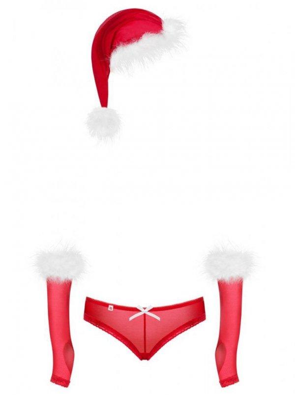 Obsessive Merrily komplet 3-dilny Vánoční Kostým
